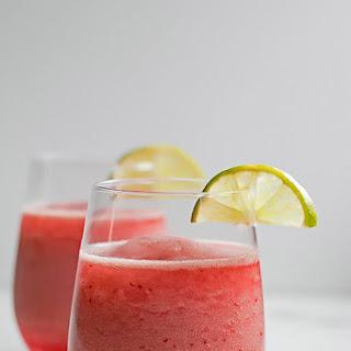 Raspberry Champagne Margarita
