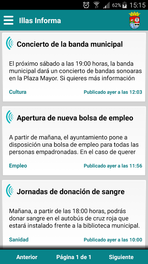 Illas Informa- screenshot