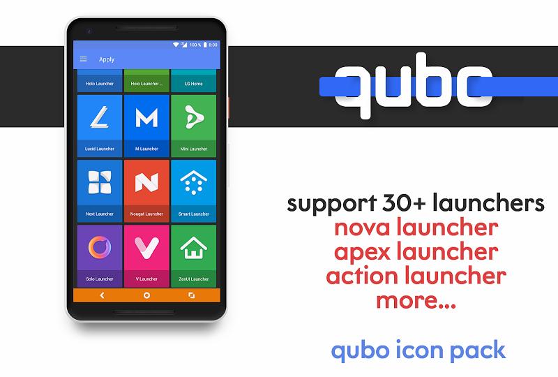 Qubo Icon Pack Screenshot 6