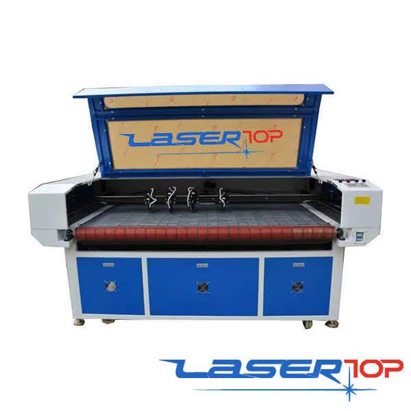 Máy Cắt Khắc Laser Tự Động Lên Liệu