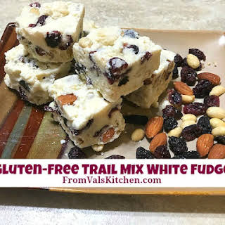 Gluten-free Trail Mix White Fudge.