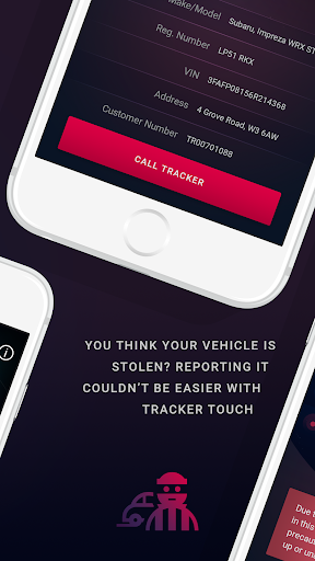 TRACKER Touch screenshots 2