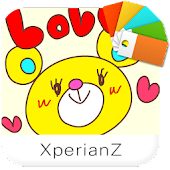Love Bear theme for XperianZ™