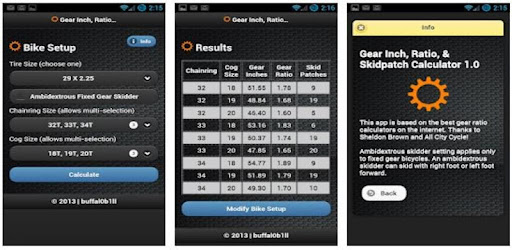 Приложения в Google Play – <b>Gear</b> Inch Calc - Reborn