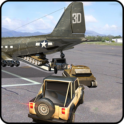 Cargo Fly Over Airplane 3D