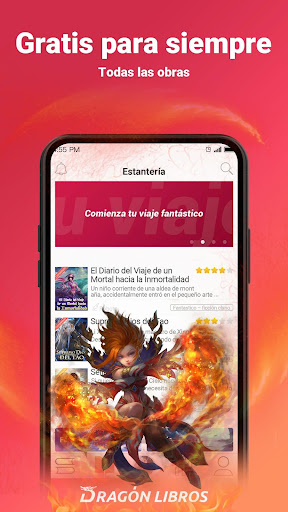 Dragón Libros—your free books app - screenshot
