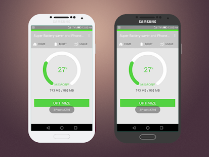 Super Battery saver and Phone Cleaner - náhled