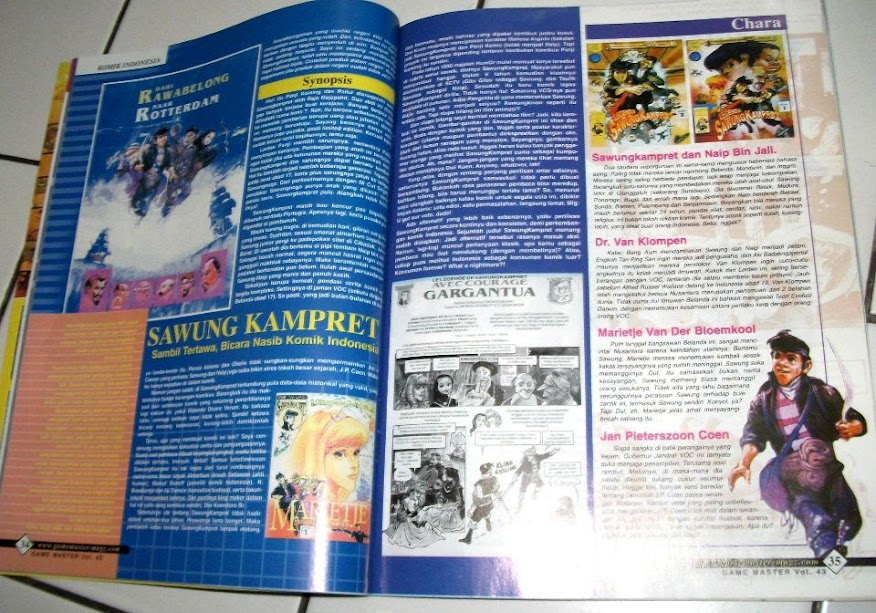 Review Komik Sawung Kampret