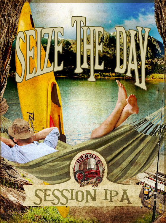 Logo of Heroes Seize The Day Session IPA