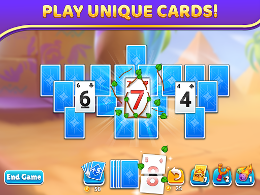 Puzzle Solitaire - Tripeaks Escape with Friends 12.0.0 screenshots 9