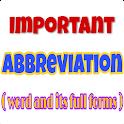 সংক্ষিপ্ত শব্দের পূর্নরূপ Abbreviations & Acronyms icon