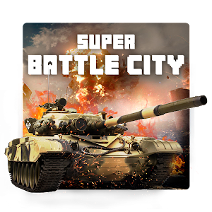 Super Battle City 1990: Classic Tank Game