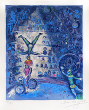"Photo: Marc Chagall, ""Il circo blu"" (1967)"