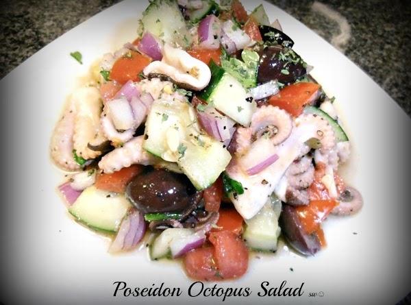 Poseidon Octopus Salad Recipe