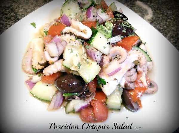 Poseidon Octopus Salad