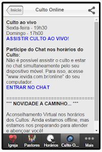IEV - Igreja Evangélica Vida screenshot 5