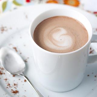 42-Calorie Almond Milk Hot Chocolate.