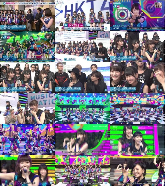 160909 HKT48 Part – Music Station
