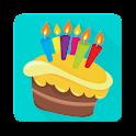 Birthday App for free icon