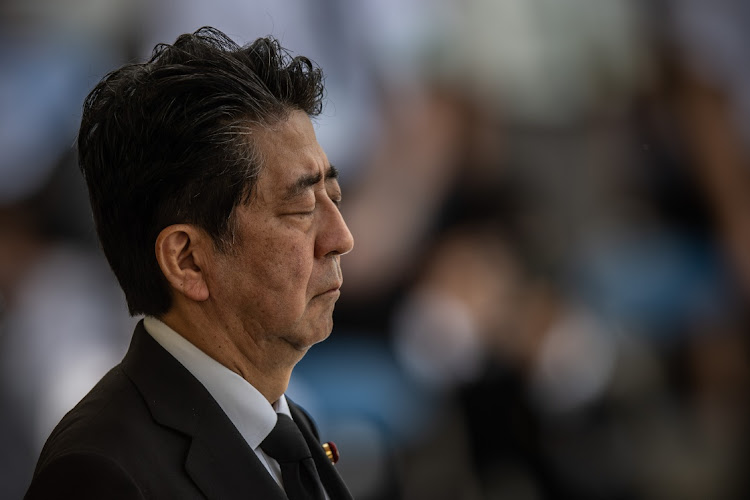 Japanese Prime Minister Shinzo Abe. Picture: GETTY IMAGES/CARL COURT