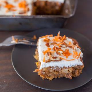 Super Moist Healthy Carrot Cake.