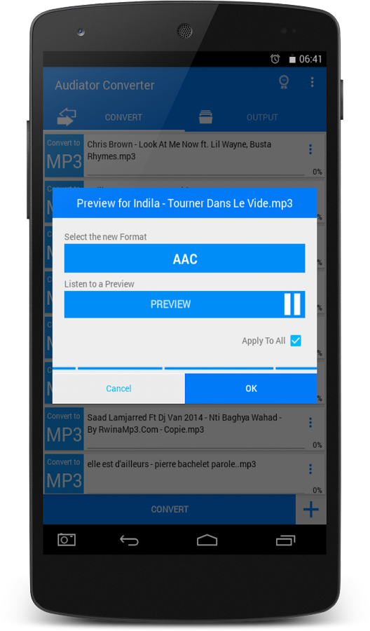 All Video Audio Converter PRO- screenshot