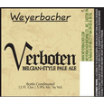 Logo of Weyerbacher Verboten