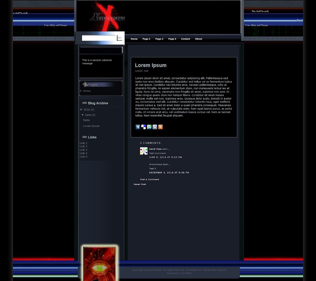 Xenogears: Alpha Omega Sample Post
