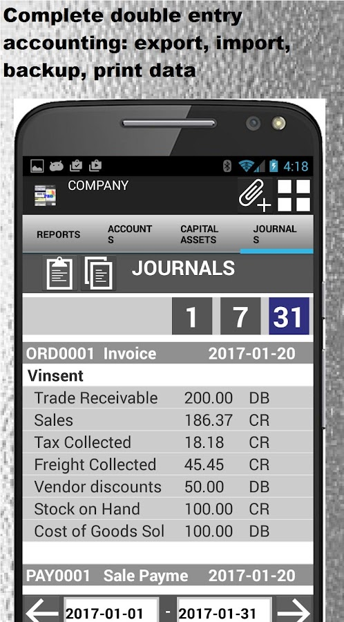 Small Business Accounting PRO- screenshot
