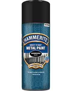 Hammarlack Svart Spray 400ml