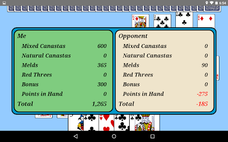 Canasta 3.0.0 screenshot 2090691