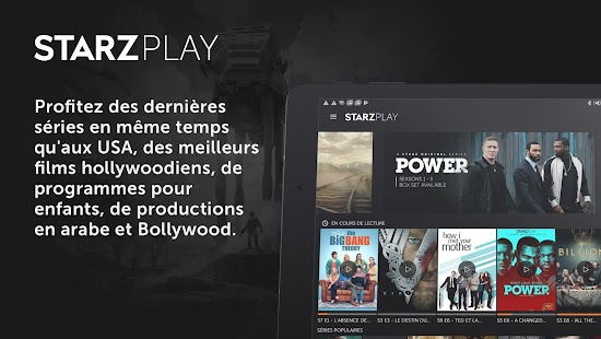 ستارزبلاي STARZPLAY‎ Capture d'écran