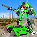 Flying Car Robot Transformation Game APK