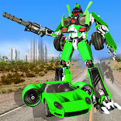 Flying Car Robot Transformation Game Mod