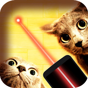 Laser game for cats