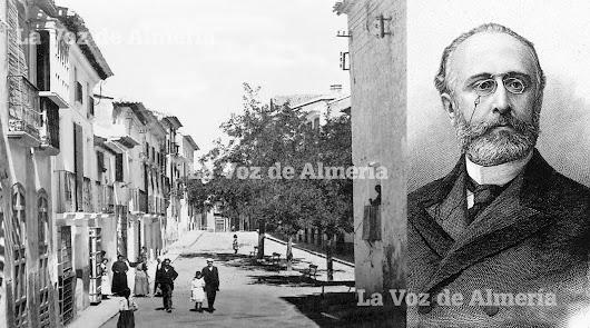 En Vélez Rubio sus habitantes sufrieron la crecida imponente del río Guadalentín y las ramblas. El ministro de la Gobernación, Francisco Silvela, izd