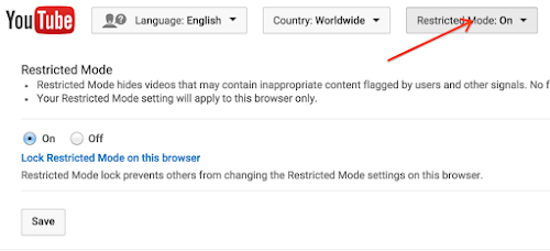 Disable or enable Restricted Mode - YouTube Help