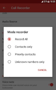 Automatic Call Recorder - Free call recorder app Screenshot