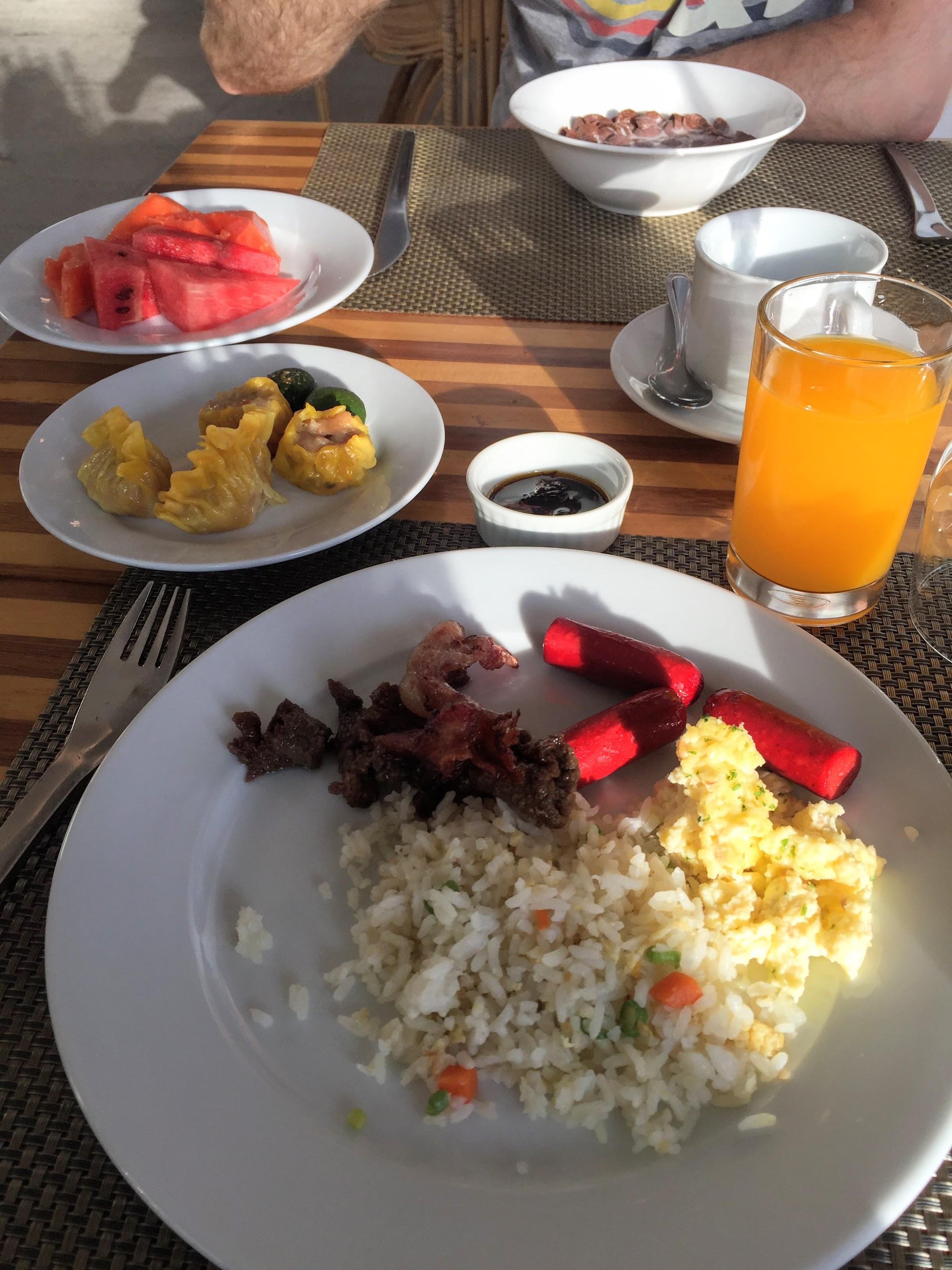 Princesa Garden Resort and Spa Palawan breakfast