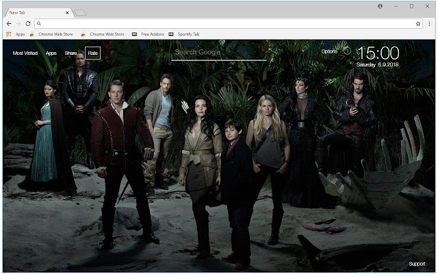 Once Upon A Time HD Wallpaper New Tab Themes