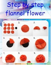 Step by step flannel flower - screenshot thumbnail 02