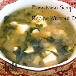 Easy Miso Soup without Dashi