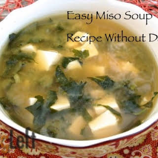 Easy Miso Soup without Dashi.