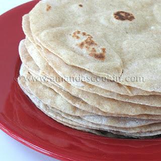 Low Fat Homemade Flour Tortillas