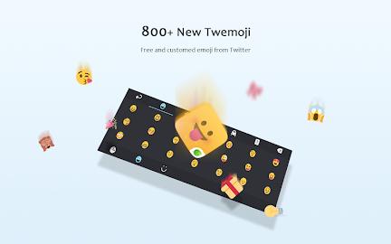 GO Keyboard Lite + Emoji Screenshot 10