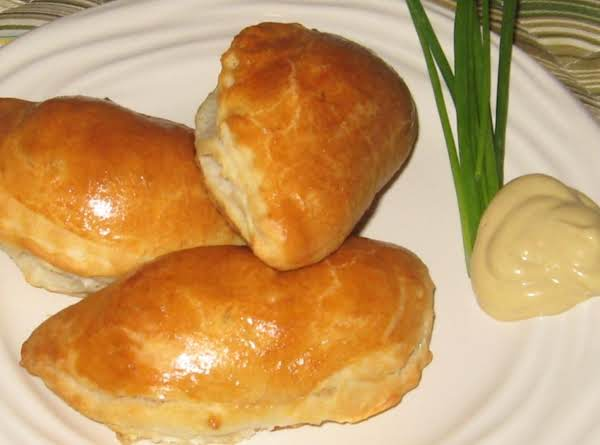 Sausage Filled Breakfast Pastries Recipe