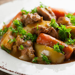 Veal Stew with Apples.