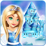 Ice Princess Doll House Design Icon