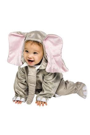 Bebisdräkt, elefant