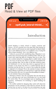 Document Reader : Documents Viewer – PDF Creator 3